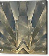 Art Deco Sunset Acrylic Print