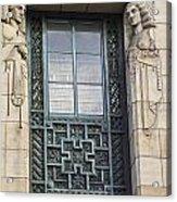 Art Deco Window Acrylic Print