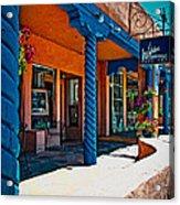 Art Gallery In Taos Acrylic Print