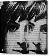 Art In The News 22 Acrylic Print