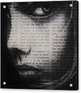 Art In The News 9 Acrylic Print