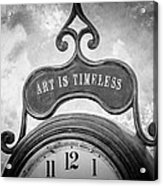 Art Is Timeless Acrylic Print