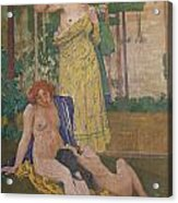 Art Nouveau Painting In The Mayors Acrylic Print