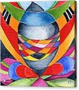 Art Nouveau Shaman Acrylic Print