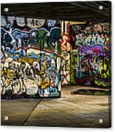 Art Of The Underground Acrylic Print by Heather Applegate