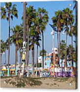 Art Of Venice Beach Acrylic Print