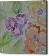 Art Of Watercolor Acrylic Print