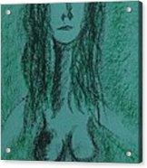 Art Therapy 147 Acrylic Print