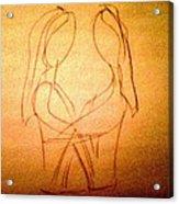 Art Therapy 199 Acrylic Print