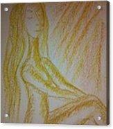 Art Therapy 49 Acrylic Print