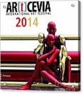 Artcevia International Art Festival - 2014 Acrylic Print