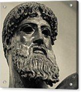 Artemision Zeus Acrylic Print