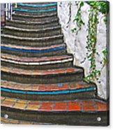 Artful Stair Steps Acrylic Print