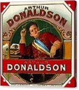 Arthur Donaldson Acrylic Print