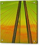 Arthur Ravenel Jr Bridge V Acrylic Print