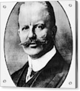 Arthur Zimmermann (1864-1940) Acrylic Print