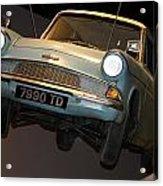 Arthur's Flying Ford Anglia Acrylic Print