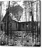 Artic Castle Acrylic Print