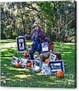 Artie Scarecrow Acrylic Print