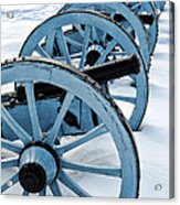 Artillery Acrylic Print by Olivier Le Queinec