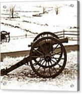 Artillery Positions - Toned Acrylic Print