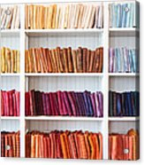 Artisan Linen Shelf Acrylic Print