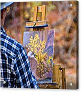 Artist At Work - Zion Acrylic Print