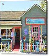 Artist Gallery In Cambria California  7142 Acrylic Print
