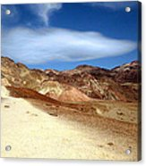 Artist Pallet Death Valley Acrylic Print