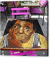 Artist Place Acrylic Print