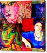 Artist Self Portrait Acrylic Print
