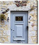 Artistic Door Acrylic Print by Georgia Fowler