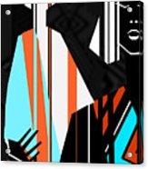 Artistic Fashion Colorful Illustration Acrylic Print