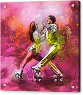 Artistic Roller Skating 01 Acrylic Print