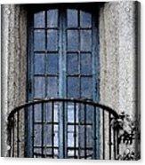 Artistic Window Acrylic Print