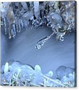 Artistry In Ice 17 Acrylic Print
