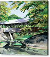 Artists Bridge September Acrylic Print