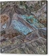 Artists Pallet Death Valley Ca Img 0448 Acrylic Print