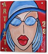 Artists Stores Acrylic Print