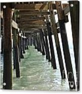 Long Walk Short Pier Acrylic Print