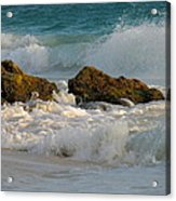 Aruba Spray Acrylic Print