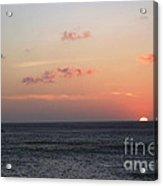 Aruba Sunset Acrylic Print