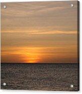 Aruban Sunset Acrylic Print