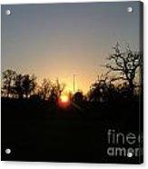 Arundel Sunset Acrylic Print