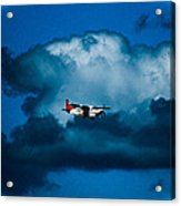 As High As The Clouds Acrylic Print by Lisa Cortez