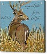 As The Deer Acrylic Print
