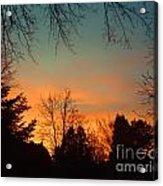 As The Sun Goes Down Acrylic Print