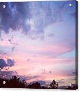 As The Sun Sets A New Dawn Begins Acrylic Print