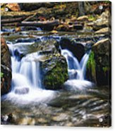 As The Water Flows  Acrylic Print