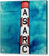 Asarco In Watercolor Acrylic Print